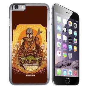 coque iphone 8 mandalorian