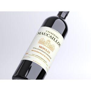 VIN ROUGE X1 Château Maucaillou 2014 300 cl AOC Moulis Rouge
