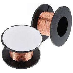 Fil /à souder 5 pi/èces 0.1mm Fil /émaill/é Fil denroulement de cuivre Fil de r/éparation /émaill/é Longueur 15m Fil denroulement Aimant Fil