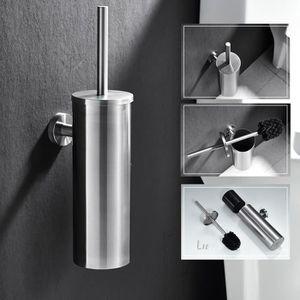 BROSSE WC Auralum® Brosse WC Porte Brosse de Toilette pour N
