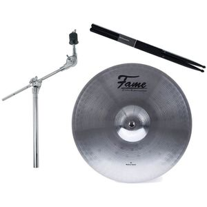 PERCHETTE Droite r/églable 40cm pour cymbale ~ Neuve /& Garantie