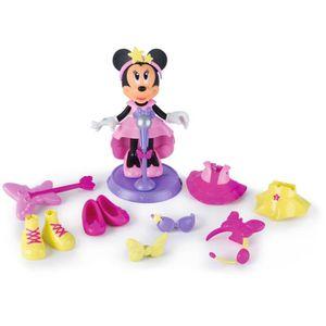 FIGURINE - PERSONNAGE IMC TOYS Figurine de 15 cm Minnie Fashionista Pop