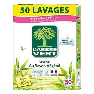 LESSIVE L'Arbre Vert - Lessive Poudre - 2,5 kg