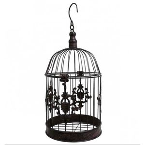 cage oiseaux decorative achat vente pas cher. Black Bedroom Furniture Sets. Home Design Ideas