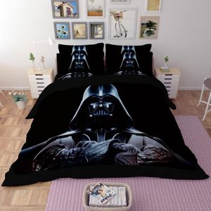 housse de couette 200x200 star wars achat vente pas cher. Black Bedroom Furniture Sets. Home Design Ideas