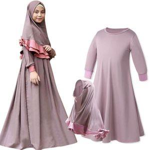 ROBE Robe Longue Musulmane - Abaya Islamique et Hijab -
