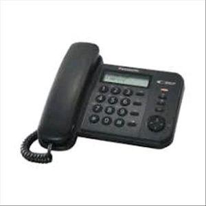 Téléphone fixe TÉLÉPHONE PANASONIC TÉLÉPHONE FIXE KX-TS560EX1B NO