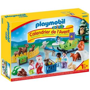 UNIVERS MINIATURE PLAYMOBIL 9391 - PLAYMOBIL 1.2.3 - Calendrier de l