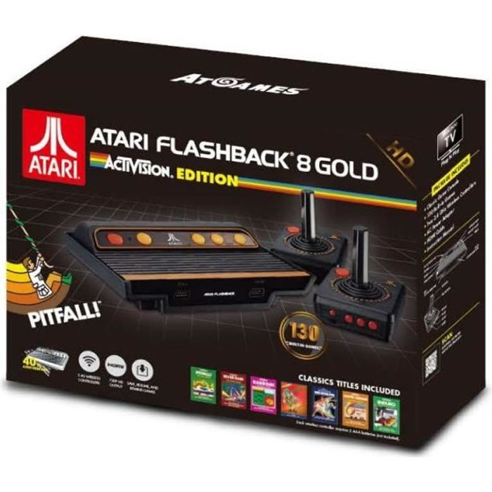 Console Atari Flashback 8 Gold HD Activision Edition + 130 jeux inclus