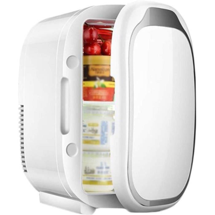 Mini Frigo, Mini-réfrigérateur De Voiture 6L Avec Fonction De Réchauffement Et De Refroidissement, Portable Petit Réfrigérateur[224]