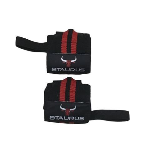 BTAURUS - Bandes Protège Poignets Support Sangles Musculation Fitness Gym