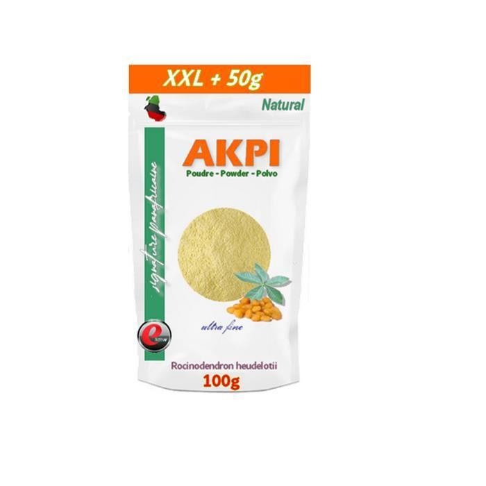 Akpi poudre XXL - Qualité supérieure -100g + 50g gratuits