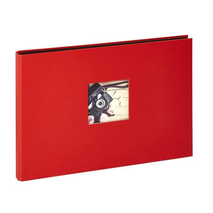 PANODIA Album photos traditionnel Studio - 120 vues - 40 pages - Rouge