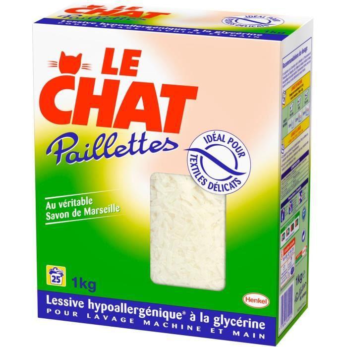 LE CHAT Lessive Paillettes
