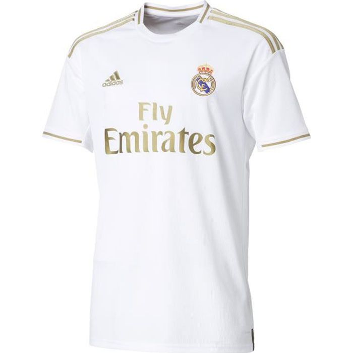 ADIDAS PERFORMANCE Maillot de Football Real H Jsy - Homme - Blanc