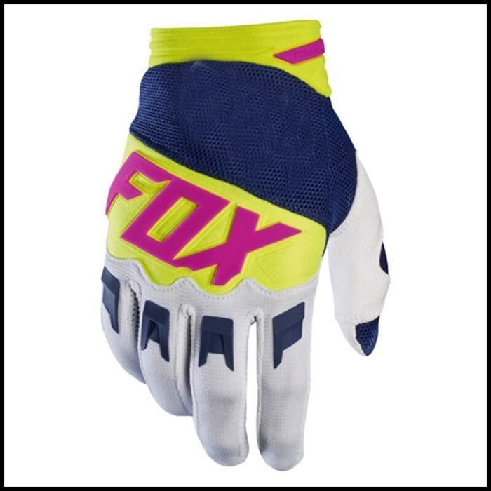 Gants,2020 MX moto gants BMX vtt cyclisme gants saleté vélo vélo gants moto course équitation Motocross gants vtt - Type 14 - XL