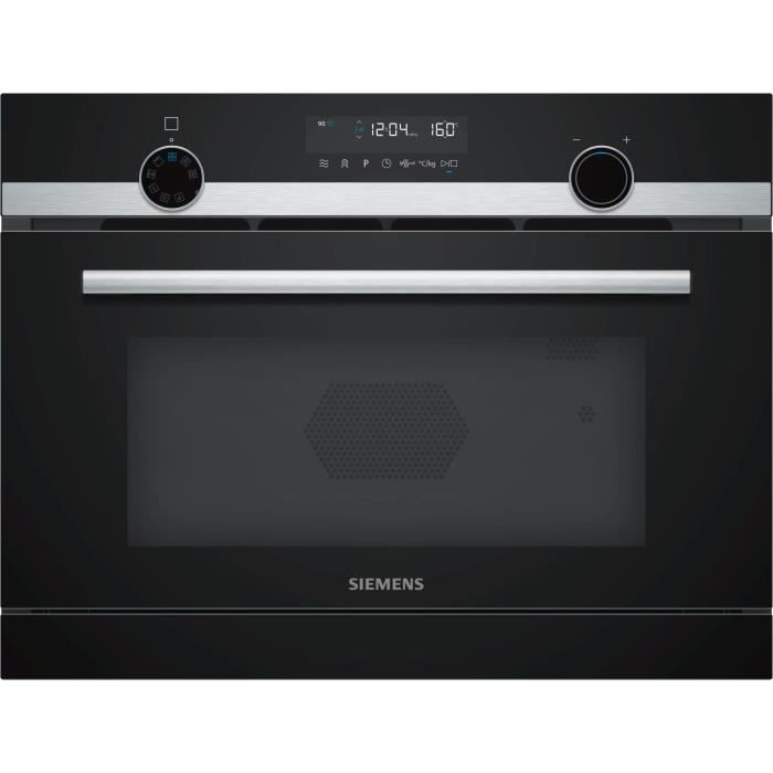 Siemens - micro-ondes encastrable 36l 1000w - cp565ags0