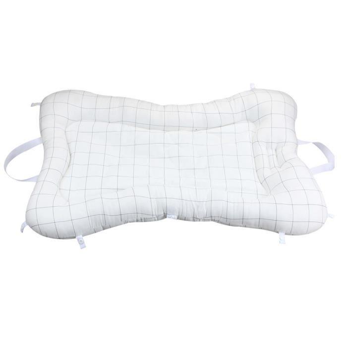Baby Lounger Portable Newborn Berceau matelas pour bébé Co-dormant Bassinet pour 0-12m Bébés