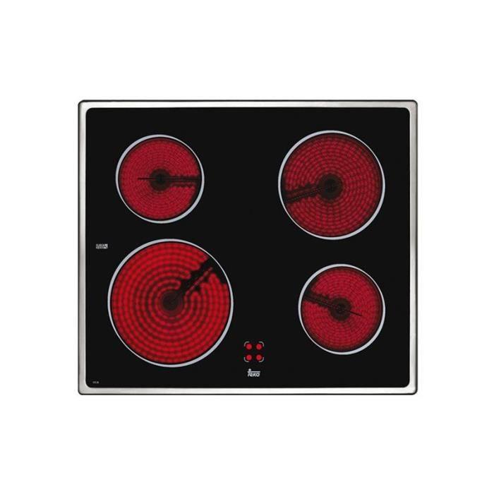 Plaques vitro-céramiques Teka VTCB I 4072 60 cm Noir (4 zones de cuisson) Multicolore