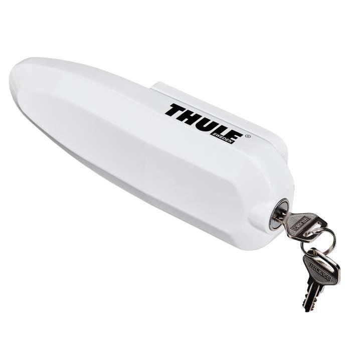 THULE Serrure de sécurité universelle pour véhicules x3 - Blanc