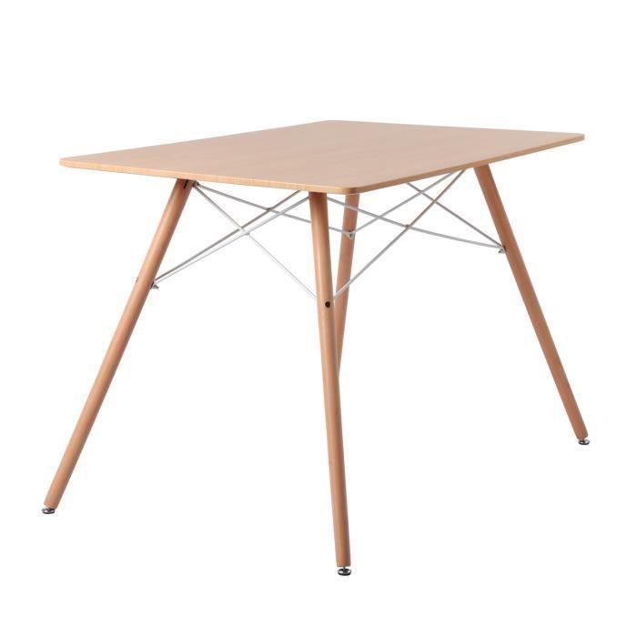 TABLE À MANGER SEULE Dora Table à manger Ronde Scandinave Table de Cuis