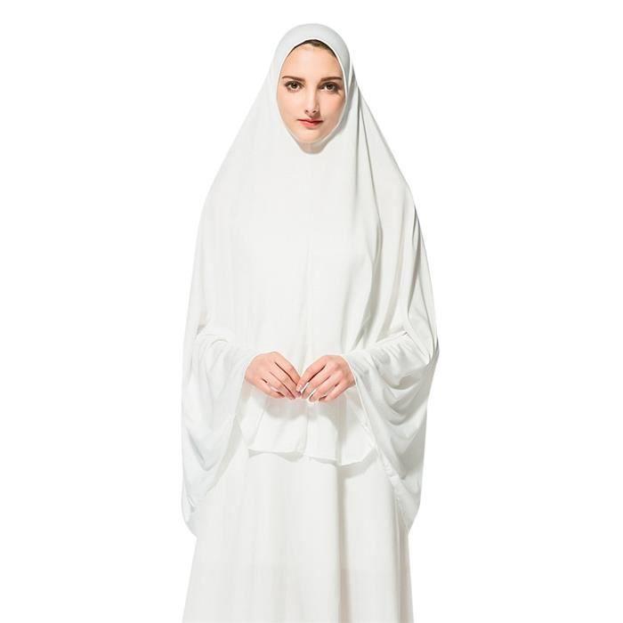 Khimar Pret A Porter Pour Femmes Long Hijab Avec Sous Foulard 2 Achat Vente Echarpe Foulard 2008731957912 Cdiscount