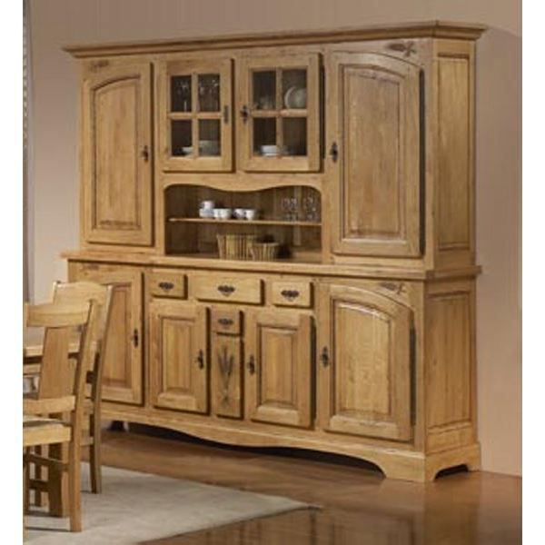 grand vaisselier ch ne massif sculpt 39 lorraine 39 achat vente vaisselier living grand. Black Bedroom Furniture Sets. Home Design Ideas