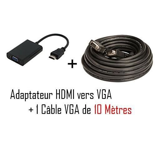 cable vga hdmi. Black Bedroom Furniture Sets. Home Design Ideas