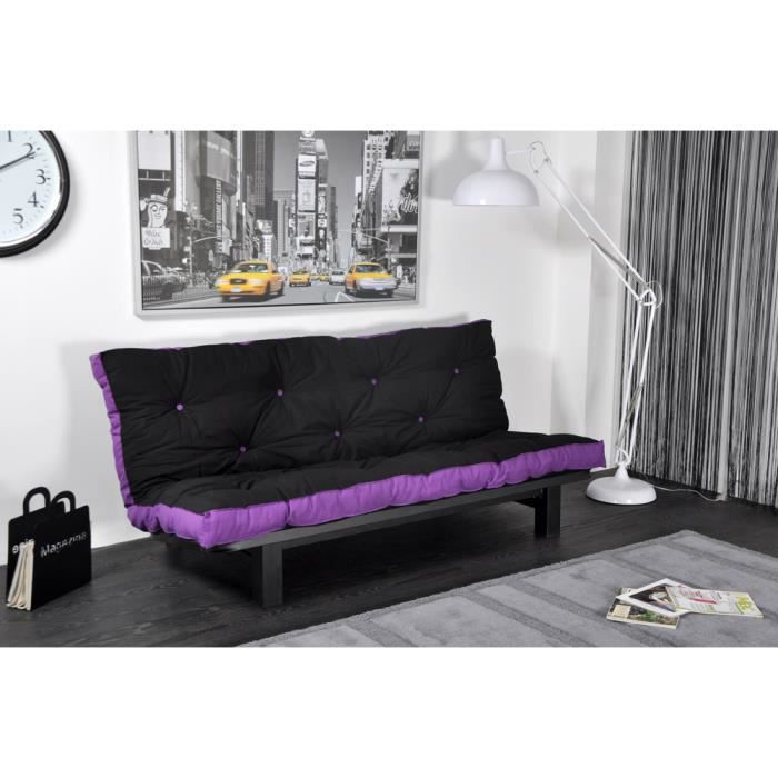 la banquette lit convertible clara a un sommier achat. Black Bedroom Furniture Sets. Home Design Ideas