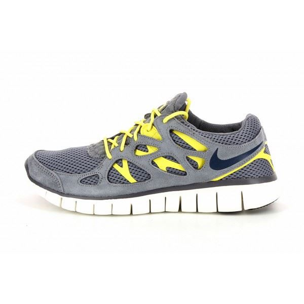 basket nike free run 2 537732 gris gris achat vente basket cdiscount. Black Bedroom Furniture Sets. Home Design Ideas