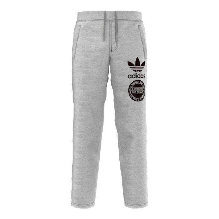 Pantalon molleton adidas Originals confort pour homme Gris