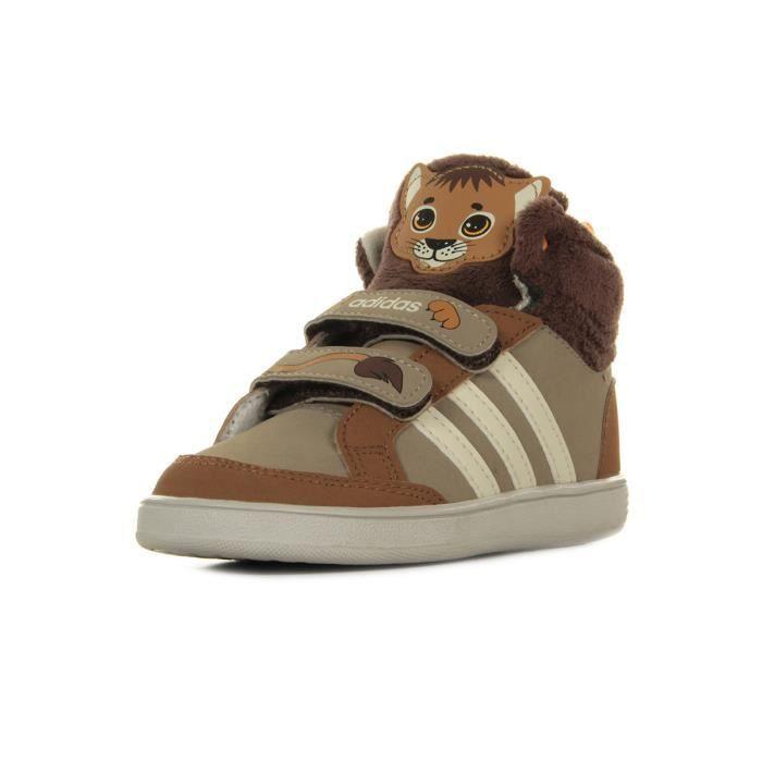 Baskets adidas Originals Hoops Animal CMF MID Marron Achat