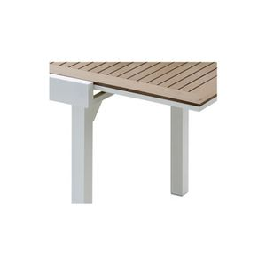 Table de jardin carre extensible achat vente table de - Table de jardin carree extensible ...