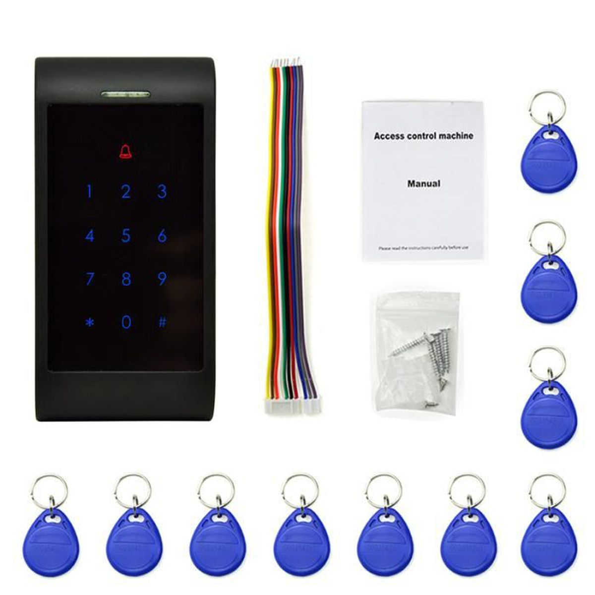 porte-clés CDVI 125khz entrée contrôle d/'accès proximité tag prix chaque
