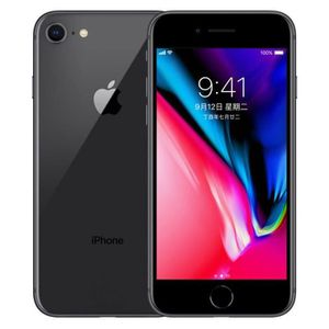 SMARTPHONE APPLE iPhone 8 - 64 Go - Gris Sideral Neuf 4,7 pou