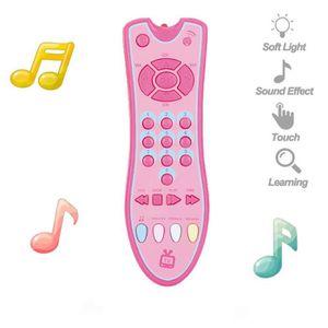CONSOLE ÉDUCATIVE Enfants télécommande musicale TV jouet avec appren