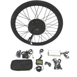 KIT VÉLO ÉLECTRIQUE 700C Rear Wheel 48V1500W Hub Motor Ebike Kit vélo
