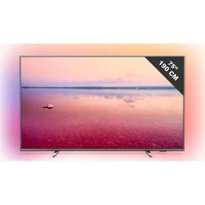 Téléviseur LED TV LED plus de 52 pouces PHILIPS TV - 75 PUS 6754/