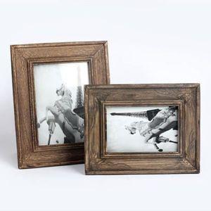CADRE PHOTO XY Cadre photo Vintage Home Decor en bois mariage