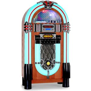 CHAINE HI-FI auna Graceland-XXL - Jukebox design vintage 50's a