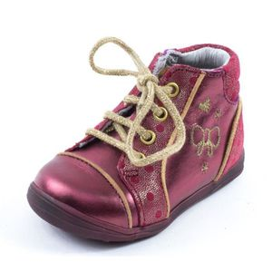 BOTTINE Bottines Catimini CARASSIN bordeaux A1716