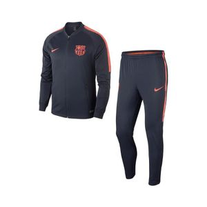 03dc343336a25 TENUE DE FOOTBALL Survêtement FC Barcelone Squad Bleu