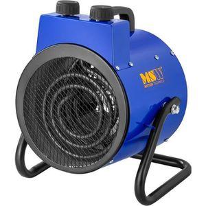 RADIATEUR D'APPOINT Chauffage à air pulsé électrique avec fonction de