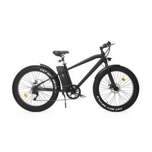 VÉLO ASSISTANCE ÉLEC REVOE Vélo électrique Fat 26'' - Noir