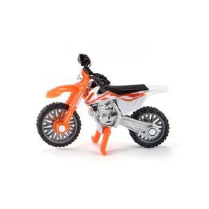 VOITURE À CONSTRUIRE Siku KTM SX-F 450, Pré-assemblé, Sport bike, KTM S