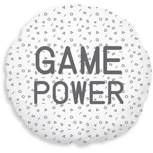 COUSSIN TODAY Coussin Geek Game Power - Ø40 cm