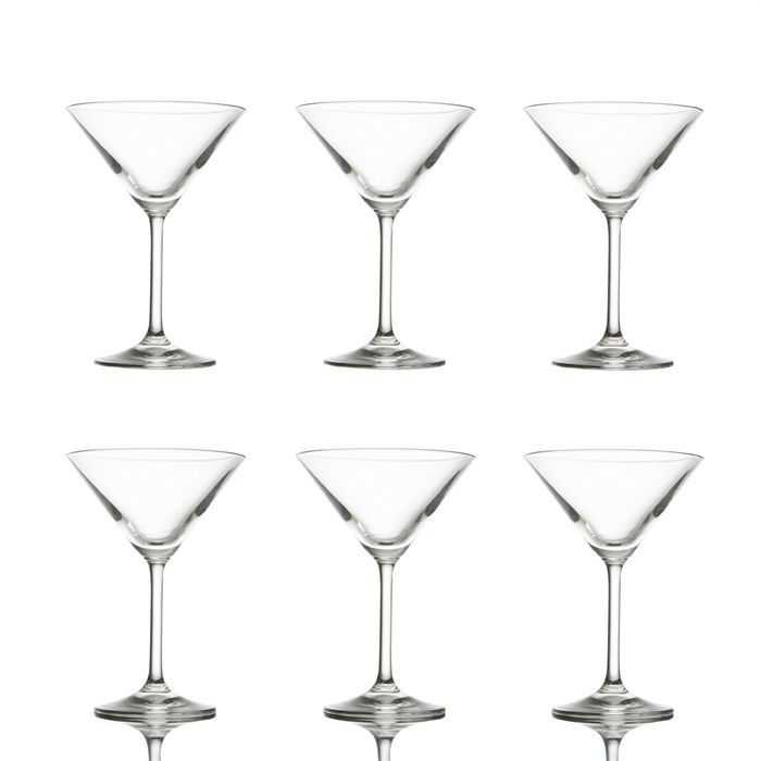 lot de 6 verres cocktail en cristallin 180 ml achat vente verre cocktail soldes d. Black Bedroom Furniture Sets. Home Design Ideas