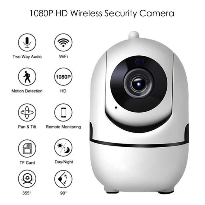 BABY PHONE - ECOUTE BEBE,Moniteur bébé Vision nocturne HD 1080P Cloud, WiFi sans fil, caméra IP, Surveillance de sécurité à