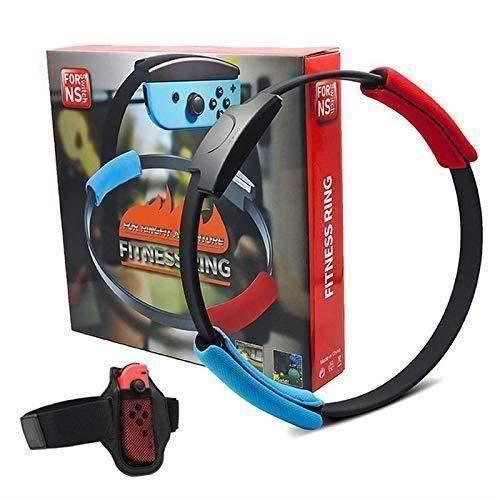 BK ACCESSOIRE Nintendo Switch jeu Fitness Ring Adventure NS Ring Fit Jeu de sport somatosensoriel Yoga Fitness Ring