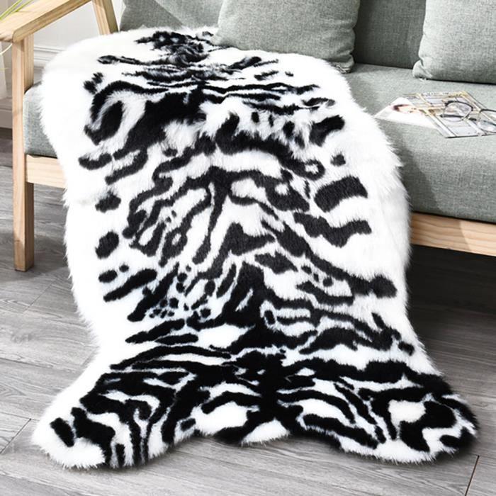 Tapis poilu tapis pour salon plaine F luffy chambre faux bébé tapis de jeu LZR91021829C_Leshaishu